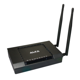 Punto de acceso inalámbrico Router Highpower Alfa Network AIP-W525H