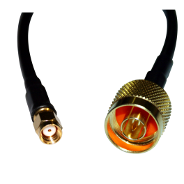 Pigtail conector RP-SMA a N enchufe